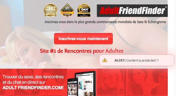 site de rencontre adultfriendfinder